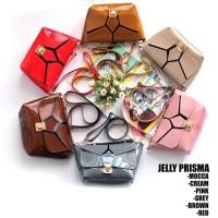 Tas Cewek Slingbag Jelly Prisma Cream