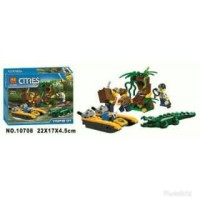 Promo!Lego Bela Cities 10708 106pcs Jungle Starter Set