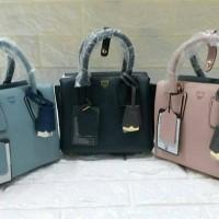 MCM Milla Mini Tote Bag in Colorblock