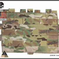 Emerson Gear Molle Panel for AVS JPC 2.0 Vest Multicam