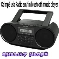 Compo sony bombox ZS-RS60BT CD Mp3 bluetooth usb radio Original