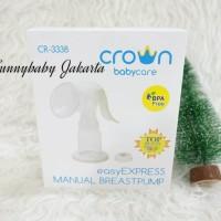 kualitas bagus pompa asi manual crown / crown manual breast pump