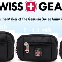 Tas pinggang sarung case dompet hp rebah tidur horizontal 6 6,5 inch