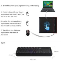 Harga best seller wireless keyboard tombol mouse kiri kanan | Pembandingharga.com