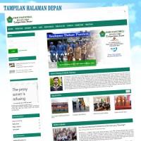 Web Sekolah+PSB ( Penerimaan Siswa Baru Online ) Responsive
