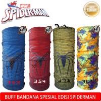 buff kartun spiderman marvel spesial edisi original jiabao headware