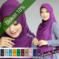 Jilbab Instant Jamila Cutting kerudung lokal murah berkualitas
