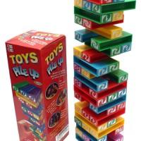 MAINAN EDUKATIF UNO TOWER STACKO / PILE UP / BALOK SUSUN FAMILY GAME