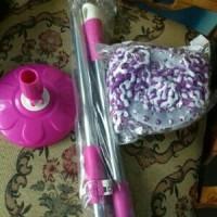 gagang pel spin dry mop