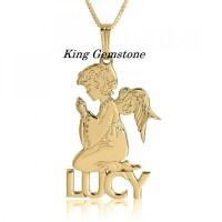 Harga kalung nama emas malaikat perhiasan | Pembandingharga.com
