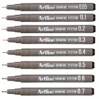 Drawing Pen Artline 0.05 - 0.8