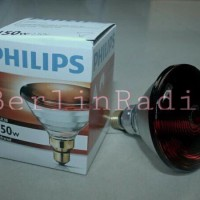 Lampu Bohlam Infraphil Philips 150wat 230v original