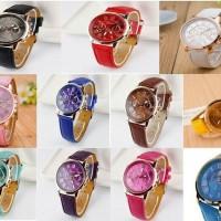 Jam Tangan Korea/ Fashion/Jam Wanita/Cewe/Geneva/ Cantik/Import/murah