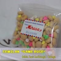 Cemilan GAME ROSE - Cemilan kue bunga - bunga enak
