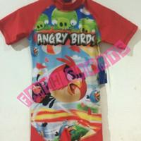 Baju Renang Anak motif Angry Bird