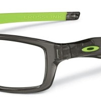 Kacamata Frame Oakley CROSSLINK GREYSMOKE - GREEN RUBBER