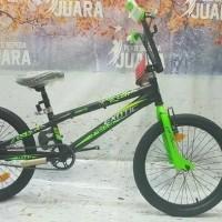 EXOTIC BMX 20 INCHI 9982GX REM TROPEDO SEPEDA ANAK FRISTAIL