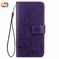 Casing HP Cover Flower Leather Case Samsung J2 Prime / PRODUCT IMPORT