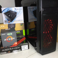 PC Rakitan Based on AMD Ryzen 5 GTX1050Ti 4GB
