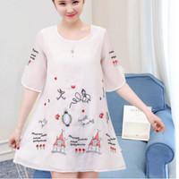 Baju Dress Hamil Korea Ciffon 121702