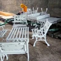 Promo Kursi / Bangku Taman Besi dan Cor Alumunium Model Terbaru