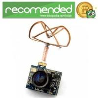 FPV Combo 3 in 1 600TVL Mini Camera 5.8GHz 40CH 25Mw - Hitam