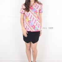 Batik Fashion Wanita Ghina v cheongsam top