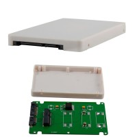 mSATA Mini PCIE SSD to 25 SATA 22pin Adapter Case thickness  T3009