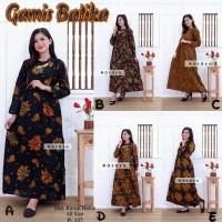 Baju Wanita Dress Batik - Baju Hamil - Gamis Batik