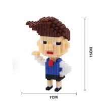 Kazuhiko Hanawa Chibi Maruko-Chan XZ8162 Nano Block Mini Lego