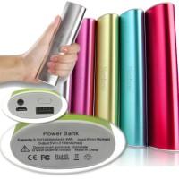 Powerbank Aluminium Aloy Case High Quality Real Capacity 10400Mah Baik