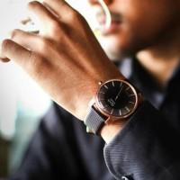 Jam Tangan Pria Alexandre Christie One Collection Black Orig T1310