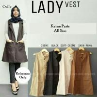 Blouse rompi outer Lady Vest