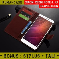 Xiaomi Redmi Note 4 4X SNAPDRAGON Flip Cover Wallet Case Casing Dompet