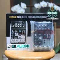 Jual Mixer Behringer Q502USB ( Q 502 USB ) with Soundcard for Recording Murah