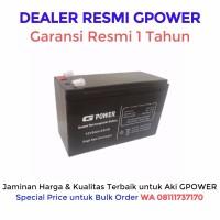 Baterai Gpower 12V - 9AH. Batere UPS / Battery UPS / Aki Kering UPS