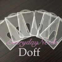 Tempat ID Card Frame Casing ID Card Holder / Name Tag