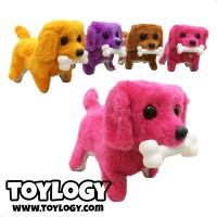 Mainan Anak Robot Boneka Anjing ( Robot Stuffed Plush Dog )