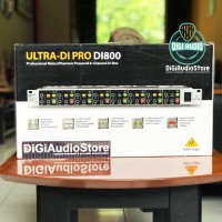 BEHRINGER DI800 [ DI 800 ] DI BOX 8 Channel For Stage And Studio