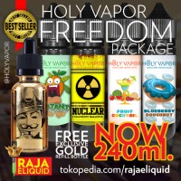 200ml Eliquid Liquid Holy Vapor Freedom Package for rda rta rba rdta