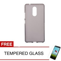 Case for Lenovo K6 Power - Abu-abu + Gratis Tempered Glass - Ultra Thi