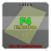 Kertas Karton Jasmine Uk. F4 GREEN HIJAU