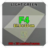 Kertas Karton Jasmine Uk. F4 LIGHT GREEN HIJAU MUDA