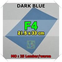 Kertas Karton Jasmine Uk. F4 DARK BLUE BIRU TUA