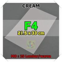 Kertas Karton Jasmine Uk. F4 CREAM KREM 220