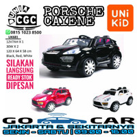 Mainan Mobil Aki Porsche Cayene UK681 Unikid 681 2 Dinamo Promo Murah