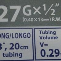 TERUMO SURFLO WINGED INFUSION SET 27G
