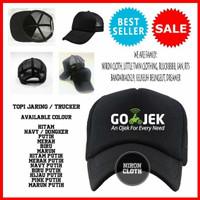 TOPI TRUCKER JARING GOJEK X/74 - TOKO TERBAIK