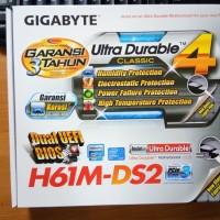 GIGABYTE GA-H61M-DS2 MOTHERBOARD SOCKET LGA 1155 IN