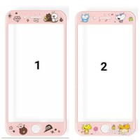 Tempered Glass Gambar Lucu Slim Clear for HP Oppo Neo 7